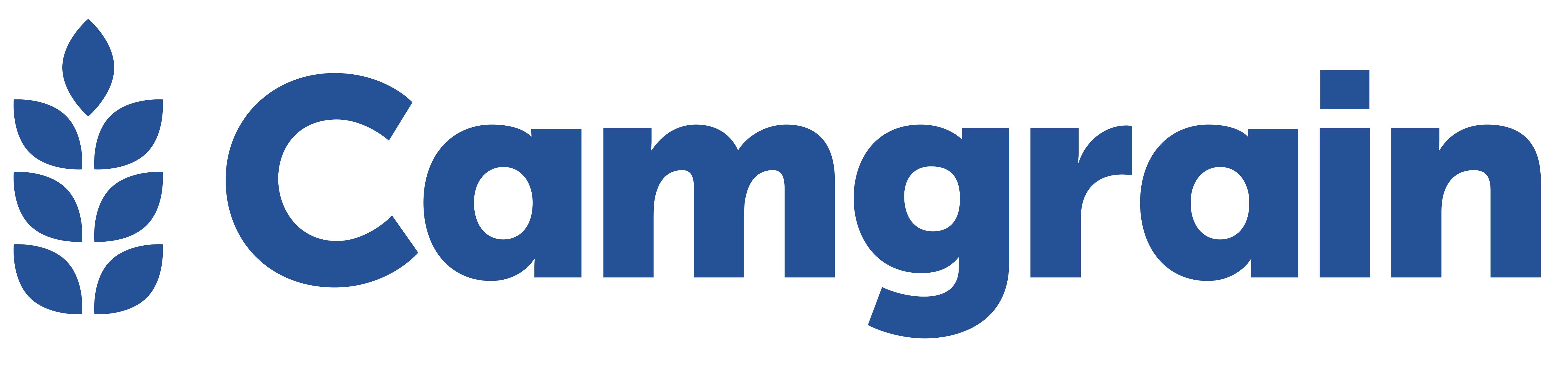 CAMGRAIN Logo 2018 BLUE