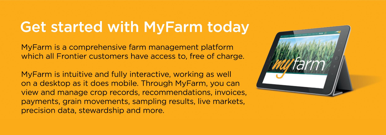 Get started with MyFarm