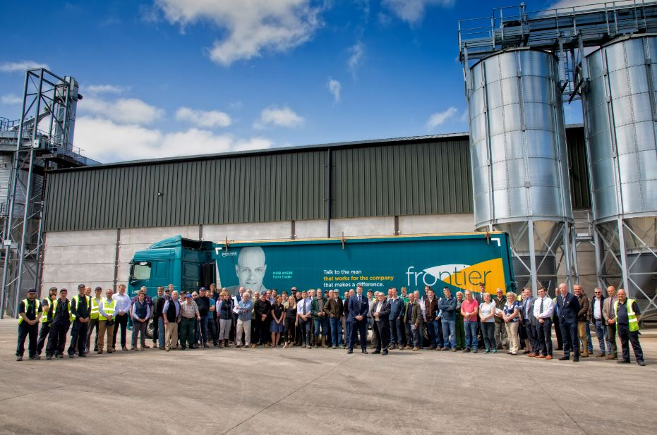 Ruddington bean plant opening June 2019 group image with facetrcuk LOW RES VERSOIN