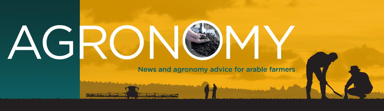 AGRONOMY website header