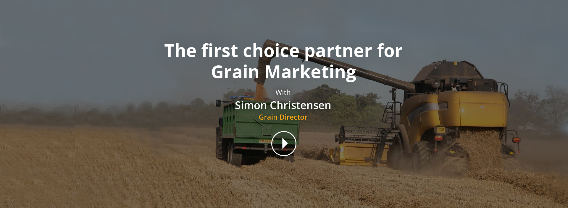 The first choice partner for Grain Marketing