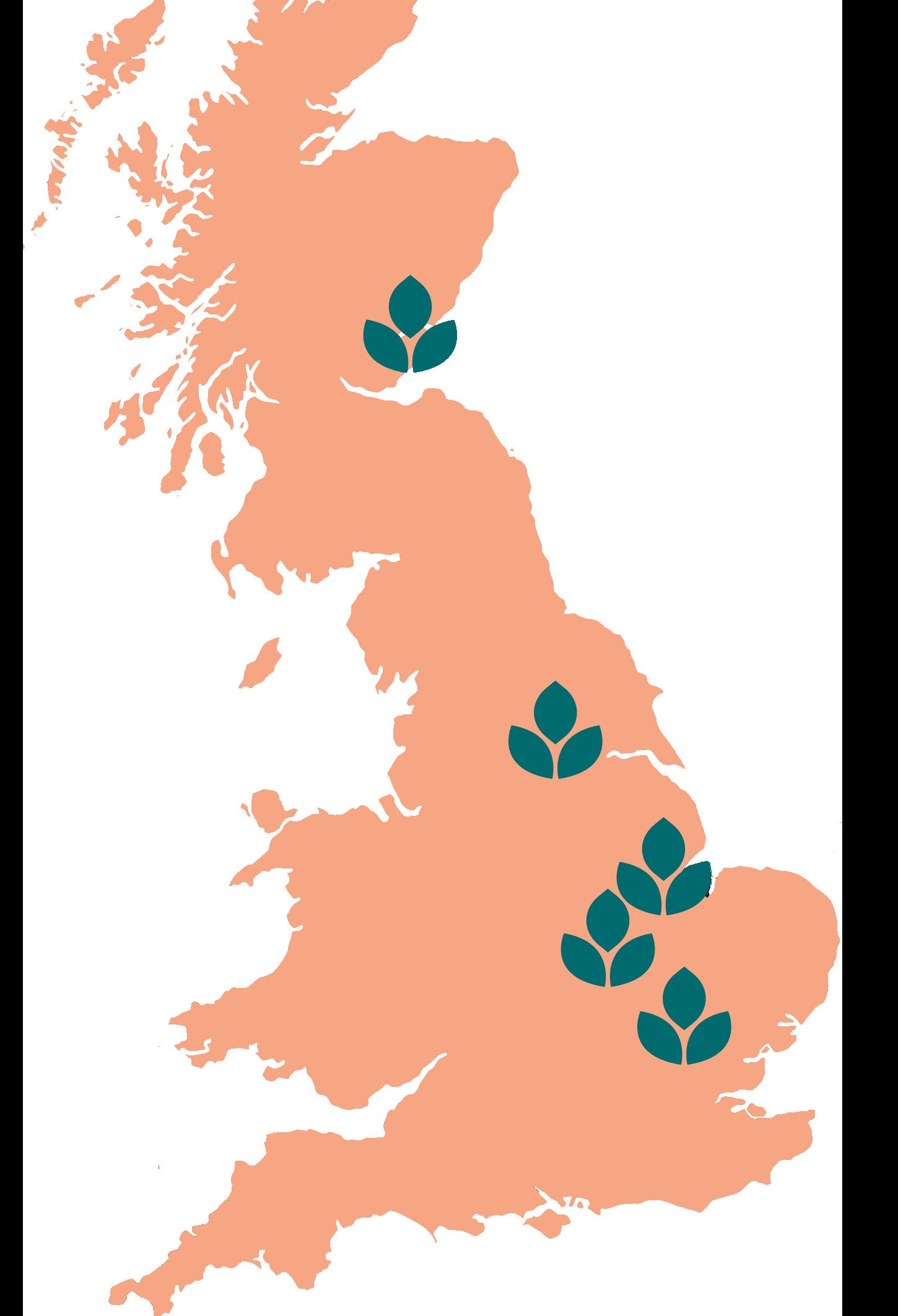 Warburtons Map